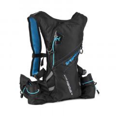 Spokey SPRINTER Sportovní, cyklistický a běžecký batoh 5 l, modro/černý, voděodolný