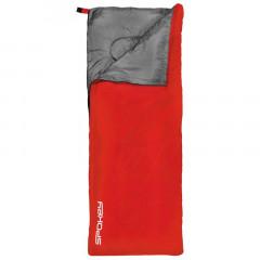 Spokey SUMMERTIME Spací pytel deka červený, pravé zapínání