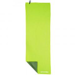 Spokey COOLER Chladící rychleschnoucí ručník 31x84 cm, zelený v plastic bag