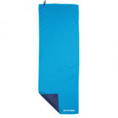 Spokey COOLER Chladící rychleschnoucí ručník 31x84 cm, modrý v plastic bag
