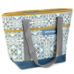Spokey ACAPULCO Termo taška malá, retro, 39 x 15 x 27 cm