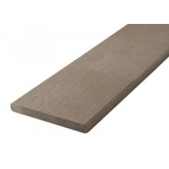 Zakončovácí lišta G21 Ořech plochá 0,9 x 9 x 200 cm, mat. WPC
