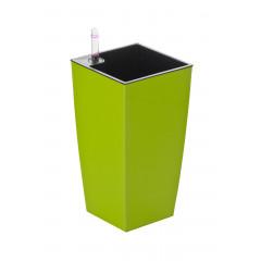 Samozavlažovací květináč G21 Linea mini zelený 26 cm