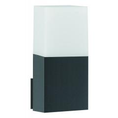 Svítidlo Nova Luce STICK WALL GREY nástěnné, IP 54, E27