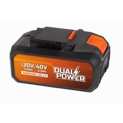 Baterie Powerplus POWDP9037 40 V, 2,5 Ah Li-Ion Samsung
