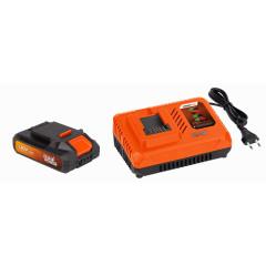 Sada Powerplus POWDP9062 nabíječka 20/40 V plus baterie 20 V