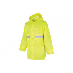 Nepromokavý reflexní plášt - Pláštěnka SENIOR 0440 Reflexní - xxl