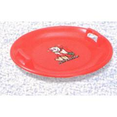 Sáňkovací talíř disk SUPER STAR- červená , modrá,žlutá