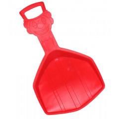Klouzák KLAUN PLASTKON červený 33x56x4,5cm - červená
