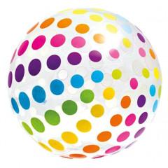 Nafukovací plážový míč Intex 58097 183 cm - tečky