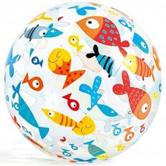 Nafukovací plážový míč Intex 59040 51 cm - ryby