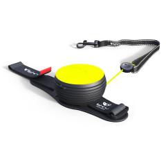 Lishinu vodítko, Neon Light Lock, žlutý