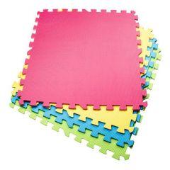 Pěnová podložka Puzzle 60x60x1 cm sada 4ks SPRINGOS PM0001 multicolor