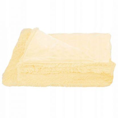 Deka 160x200 cm dvouvrstvá SPRINGOS LOTUS žlutá