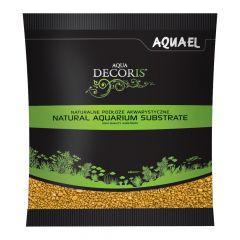 Akvarijní štěrk AQUA DECORIS žlutý, zrnitost 2-3 mm, 1l AQUEL