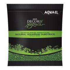Akvarijní štěrk AQUA DECORIS zelený, zrnitost 2-3 mm, 1l AQUEL
