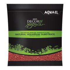 Akvarijní štěrk AQUA DECORIS červený, zrnitost 2-3 mm, 1l AQUEL