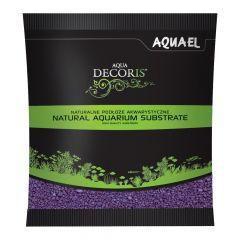 Akvarijní štěrk AQUA DECORIS fialový, zrnitost 2-3 mm, 1l AQUEL
