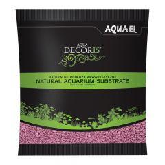 Akvarijní štěrk AQUA DECORIS růžový, zrnitost 2-3 mm, 1l AQUEL