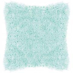 Polštář chlupatý 40x40 cm SPRINGOS DOWNY azurový