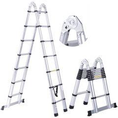 Teleskopický žebřík / štafle 3,8m HIGHER TL2-6 + stabilizátor + taška