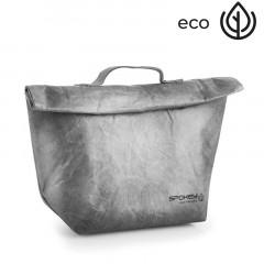 Spokey EKO FRIENDLY CARTA Termo obal na svačinu s poutkem, šedý, 20 x 12 x 30 cm