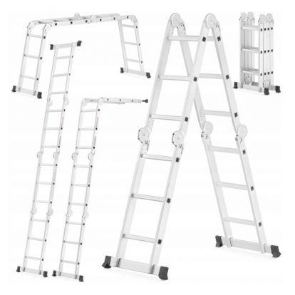 Multifunkční žebřík 4x3 příčky HIGHER MFL-403 PRO