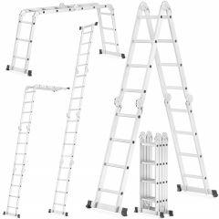 Multifunkční žebřík 4x4 příčky HIGHER MFL-404 PRO