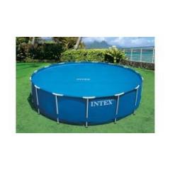 Bazénová plachta SOLAR 488cm - modrá