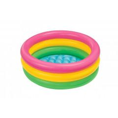 Bazén nafukovací dětský SOFT DNO 86x25 cm