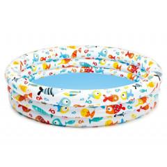 Bazén nafukovací dětský Ananas INTEX 59431