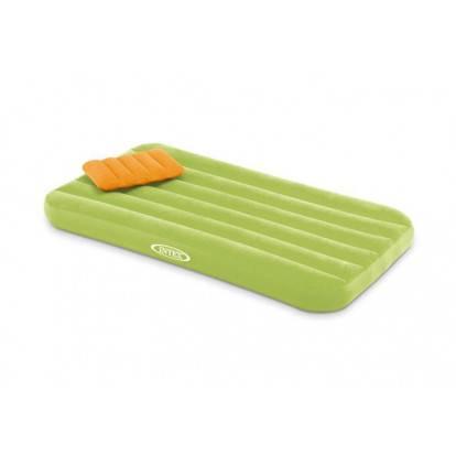 Nafukovací matrace Intex 66801 Cozy Kids Airbed 88x157x18 cm zelená