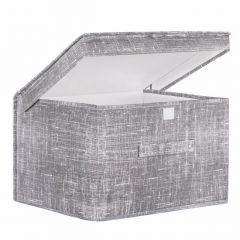 Úložný box 50x40x30 cm, šedý vzor SPRINGOS