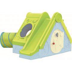 Dětské hřiště Keter FUNTIVITY PLAYHOUSE světle zelené / světle modré