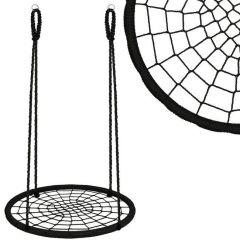 Zahradní houpačka SPRINGOS ČAPÍ HNÍZDO 120 cm černá