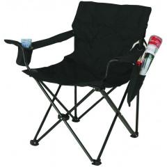 Skládací rybářská židle SPARTAN STANDARD - černá