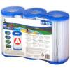 INTEX Filtrační vložka A - 3 ks 29003Pro všechny INTEX filtrace s filtrační kartuší typu A. INTEX DACRON čistí veškeré nečistoty z Vaší ...