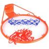 Koš na basket + síťka 1991Je ideální pro aktivní využití volného času. Společně s obroučkou získáte i síťku. Obroučku i se síťkou pak už jen připevníte na zeď nebo desku.