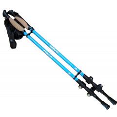 Trekové hole SEDCO 20005 - 65-135 cm - modrá