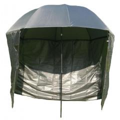 Rybářský deštník s bočnicemi SEDCO 500503 - khaki