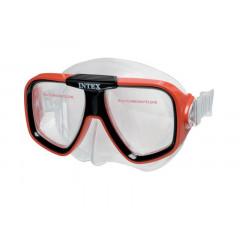 Potápěčské brýle INTEX 55974 Reef Rider 8+ - červená