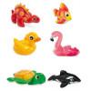 Plovoucí zvířátka nafukovací Intex 58590Nafukovací zvířátka do vody zpříjemní každému dítěti koupání.Skvělé do vody nebo ...