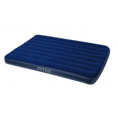 Nafukovací postel INTEX 64758 Classic Downy Airbed 137x191x25 cm