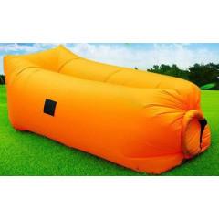Nafukovací vak Sedco Sofair Pillow lazy oranžový