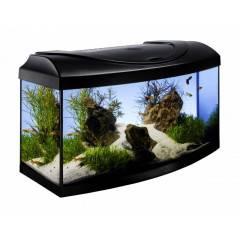 Akvárium set STARTUP 60 LED EXPERT vypouklý 54l DIVERSA, černá