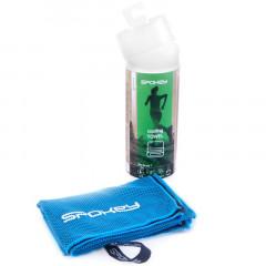Spokey COSMO Chladící rychleschnoucí ručník 31x84 cm, modrý v plastic bag - klient