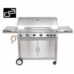 Plynový gril G21 Mexico BBQ Premium line, 7 hořáků + zdarma redukční ventil