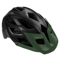 Spokey SINGLETRAIL Cyklistická přilba pro dospělé a juniory IN-MOLD, 58-61 cm, černá
