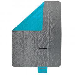 Spokey CANYON Kempingová deka 200x140 cm, šedo/modrá