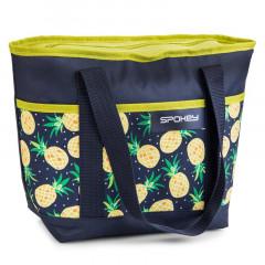 Spokey ACAPULCO Termo taška malá, vzor - ananas, 39 x 15 x 27 cm